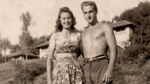 When Comedy Went to School - Sid Caesar and his fiancee Florence at Avon Lodge